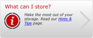 Storage Hints & Tips