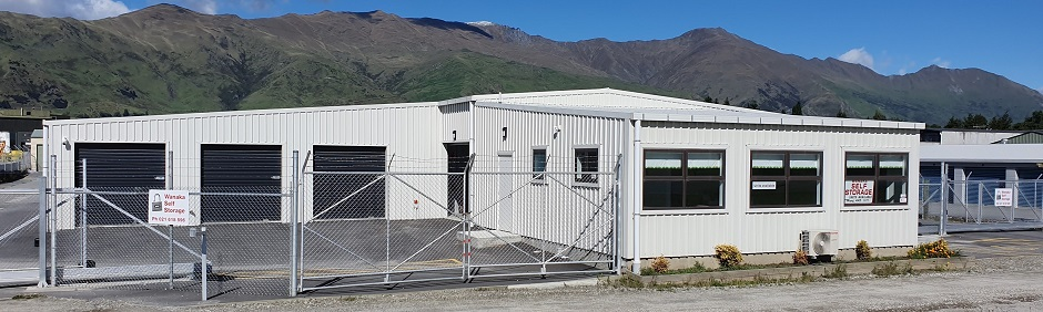 Wanaka Self Storage Entrance